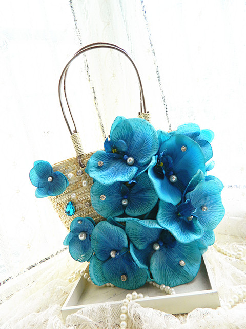 The National Post Korean version of the new female flower holiday beach bag bag provided summer straw bag piece woven bag ночная рубашка the flower of love