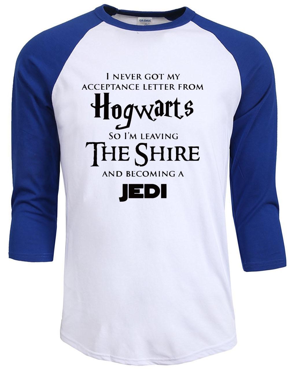New Fashion's summer autumn Hogwarts Homme Star War Jedi Inspired Funny Slogan Premium Men's T-Shirt male t shirts tops