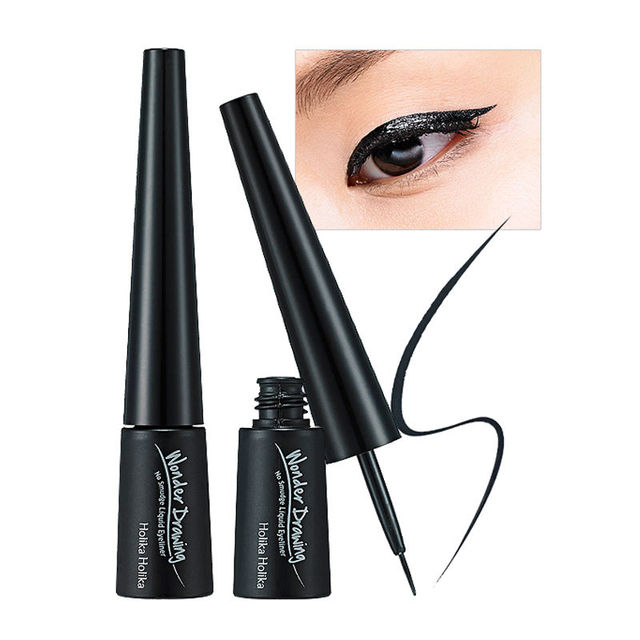 Holika Holika Wonder Drawing No Smudge Liquid Eyeliner 4g Liquid