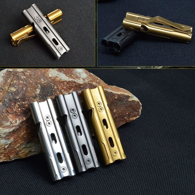 Loud Stainless Steel Survival Whistle 150db