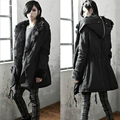 Top Quality New Arrival Fashion Men Parkas Coat Fashion Fur Collar Warm Mens Long Winter Cotton Parka Dress Hooded Coat
