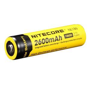 Image 1 - Ban Đầu Nitecore NL1826 2600MAh 18650 3.7V Max 2A 18650 Pin Sạc Li ion (NL186) Cho Đèn LED