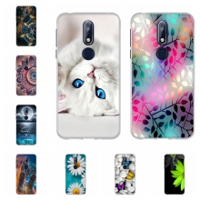 For Nokia 7.1 Protective Case Ultra-thin Soft TPU Silicone For Nokia 7.1 Back Cover Cute Animal Patterned For Nokia7.1 Coque Bag стоимость