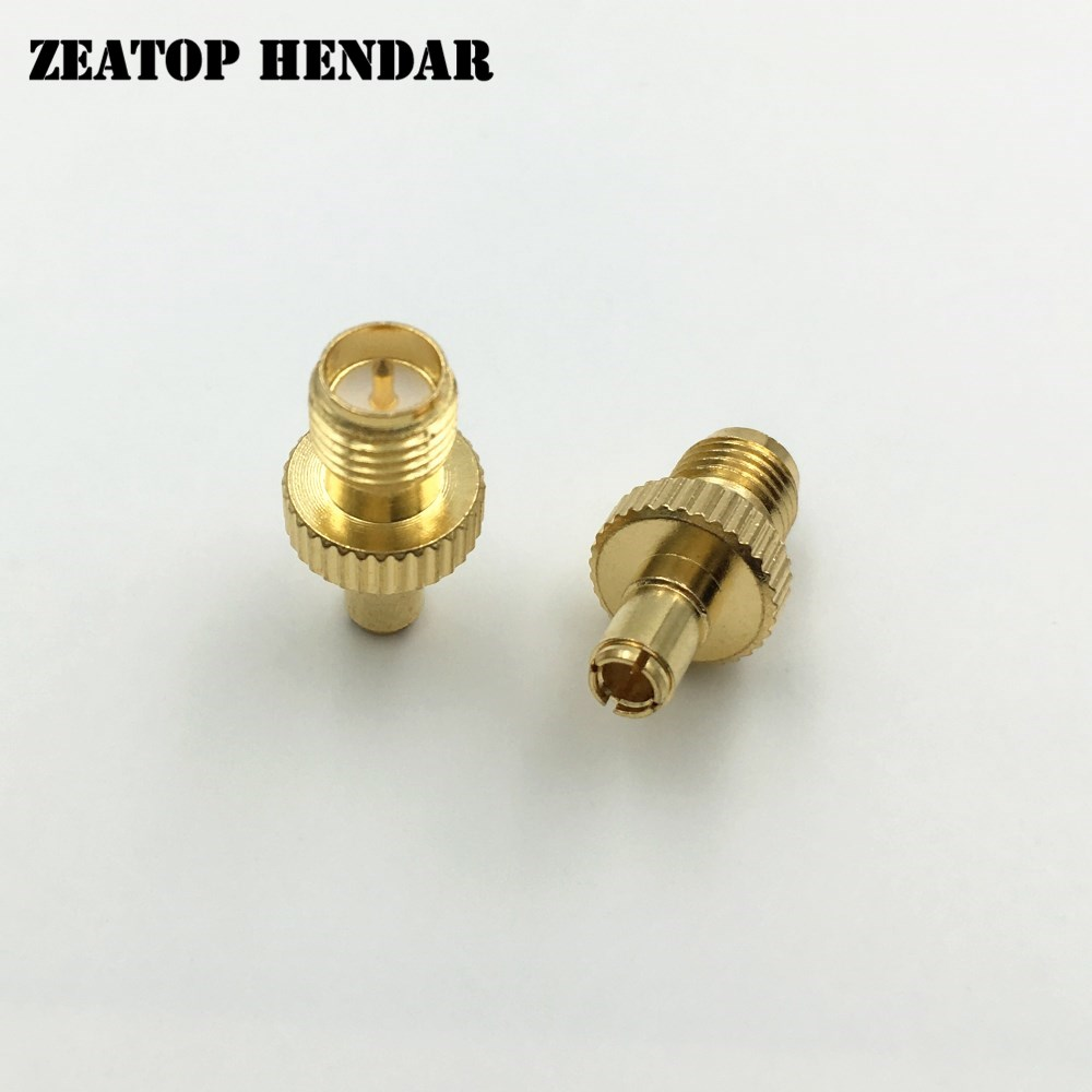 50pcs TS9 male plug TO SMA female jack RF connector adapter