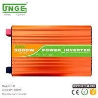 DC 12V 24V 48V to AC 110V 120V 220V 230V 240V pure sine wave solar power inverter 3kw 3000w