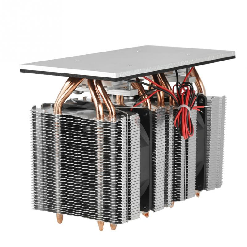 240W Electronic Semiconductor Refrigeration Semiconductor Cooling System 12V Thermoelectric Peltier Cooler Computer Components