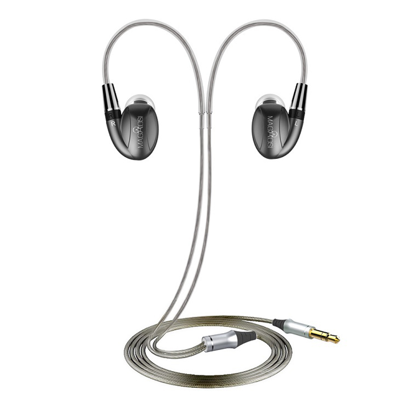 Chaude MaGaosi K3 Pro Dans L'oreille Écouteurs 2BA Hybride avec Dynamique HIFI Écouteurs Avec MMCX Interface Casque Livraison Gratuite