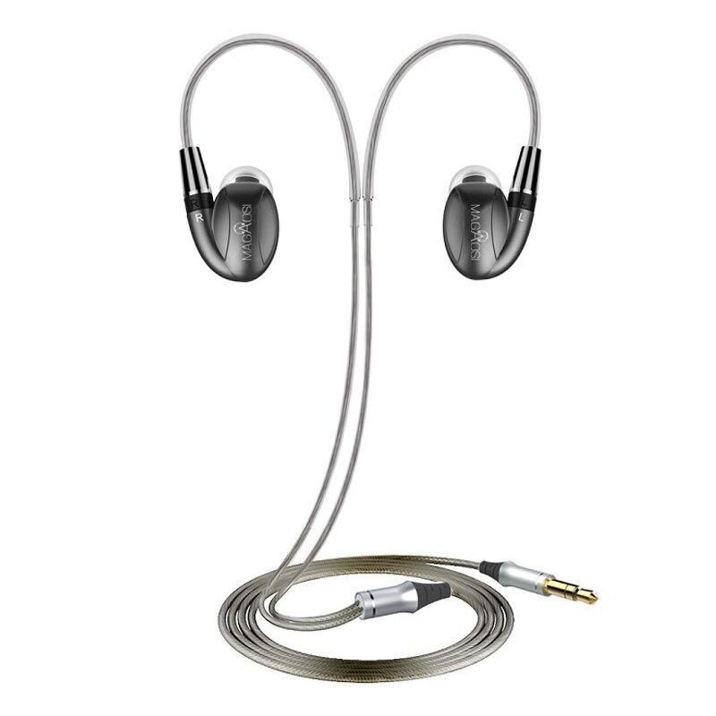Hot MaGaosi K3 Pro In Trasduttore Auricolare Dell'orecchio 2BA Ibrido con Dinamico HIFI Auricolare Con Auricolare Interfaccia MMCX Trasporto Libero