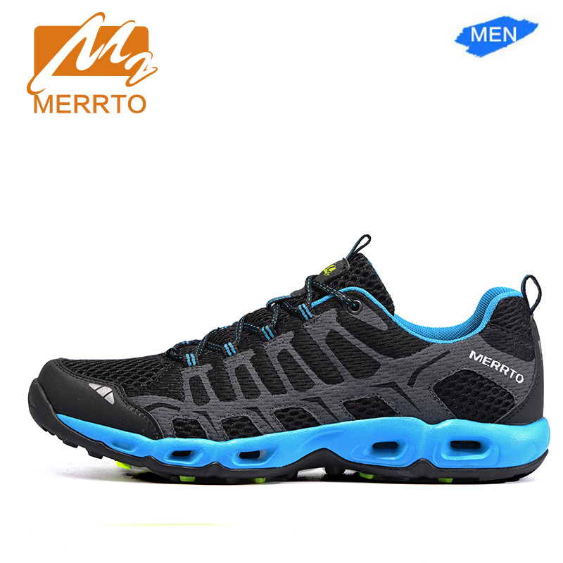 MERRTO Brand  Man &Woman's Mesh Breathable sport Sneakers running shoes Skidproof  High Quality Running Shoes#MT18598-18597 2017brand sport mesh men running shoes athletic sneakers air breath increased within zapatillas deportivas trainers couple shoes