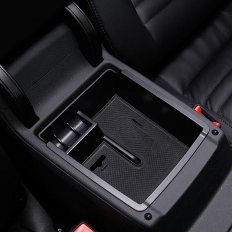 2015 Volkswagen Passat Tdi: Car Center Armrest Storage Box Container Holder Car