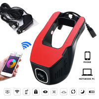 Dual Lens WIFI Car DVR Mini Wifi Car Mirror Camera Dash Cam Registrator Smartphone APP Control Video Recorder Camcorder Dvrs