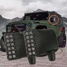 Для 2014-2007 Jeep Wrangler JK светодио дный Off Road Mirror обновление с поворотными сигналами и DRL боковые зеркальные огни