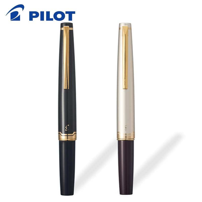 1Pcs Pilot Elite 95s 14k Gold Pen EF/F/M Nib Limited Version Pocket Fountain Pen Champagne Gold/Black Perfect Gift