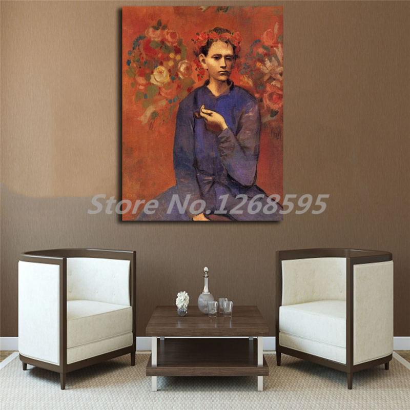 Pablo Picasso Boy With A Pipe HD Wall Art Canvas Posters