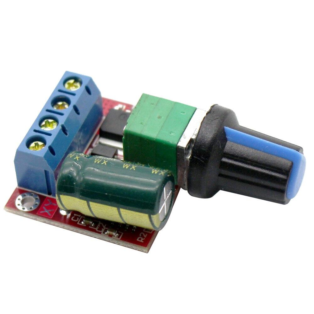 5A 90W PWM 12V DC Motor Speed Controller Module DC DC 4.5V ...