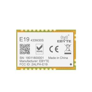 Image 3 - SX1278 LORAWAN LoRa 433MHz ebyte rf جهاز ريسيفر استقبال وإرسال E19 433M30S طويلة المدى SPI 433MHz اللاسلكية جهاز بث استقبال للترددات اللاسلكية