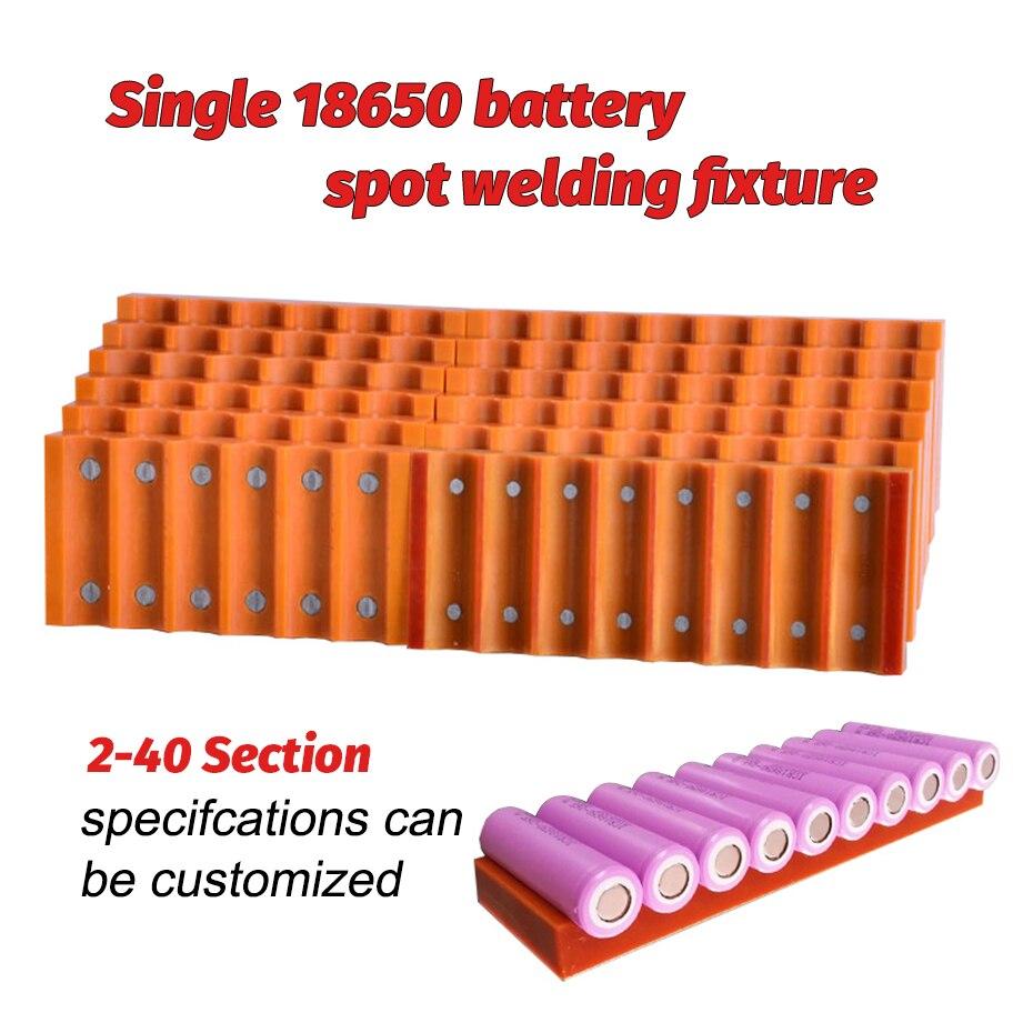 Universal SUNKKO Adjustable 18650 Battery Fixture Clamp for Spot Welding Fixtion