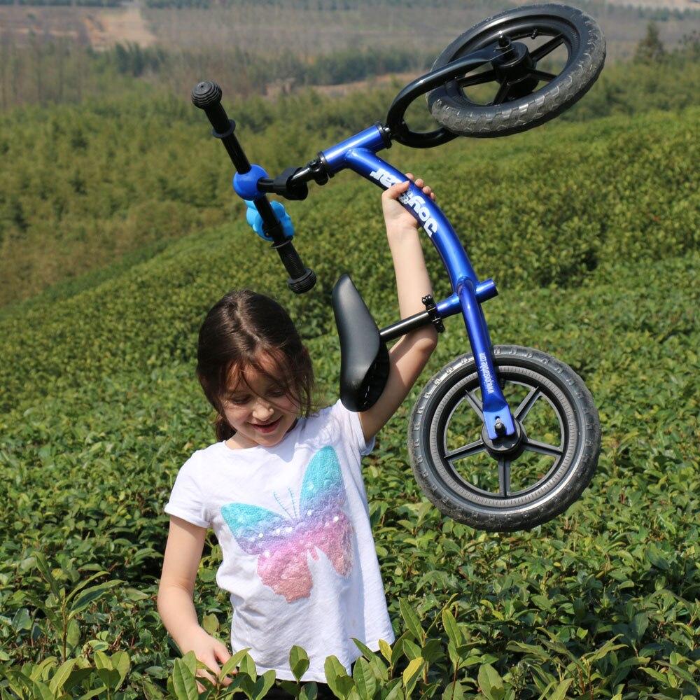 HTB1uIgNo8jTBKNjSZFDq6zVgVXac Joystar 12 Inch Balance Bike Ultralight Kids Riding Bicycle 1-3 Years Kids Learn to Ride Sports Balance Bike Ride on Toys