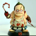 Pudge DOTA 2 Game Toy Figuras de Ação PVC
