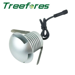 3W 12V 24V IP67 CREE LED Downlight Lamp + 600W IP67 MeanWell Voeding Outdoor Begraven spot Verlichting