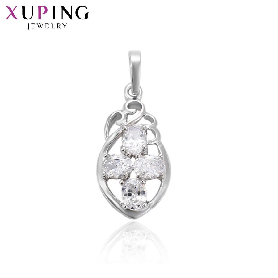 11.11 Deals Xuping Fashion Necklace Pendant With Synthetic CZ for Women Thanksgiving Jewelry Christmas Gifts S71,1-32058