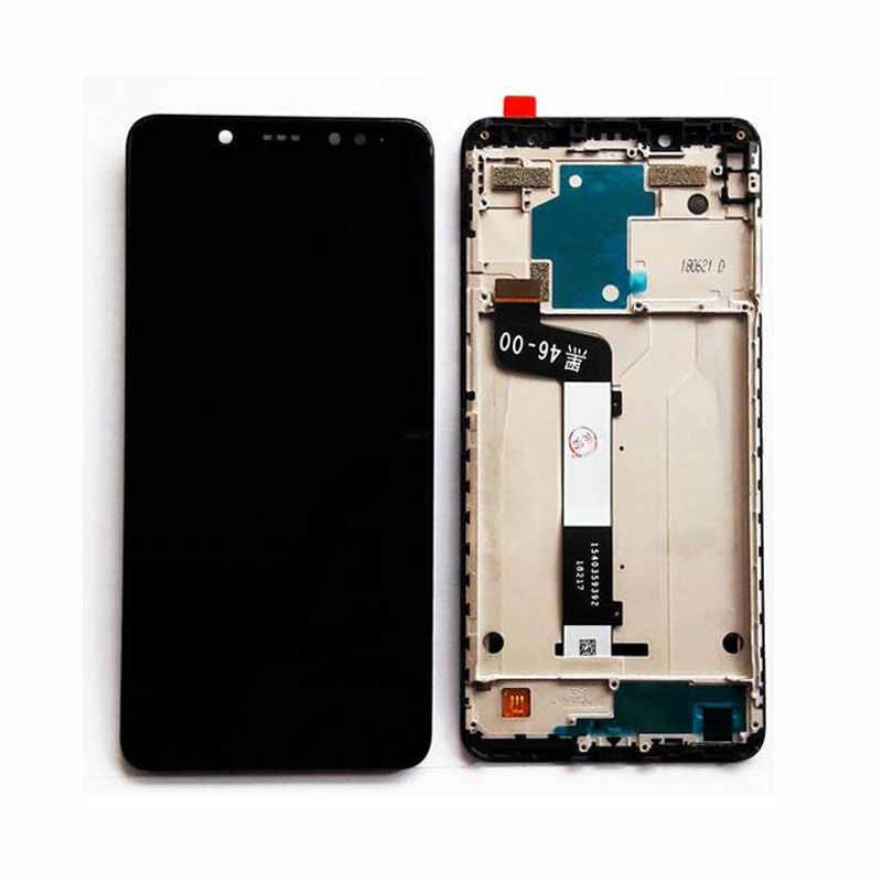 Оригинальный чехол для xiaomi Redmi Note 5 Pro ЖК-дисплей Дисплей цифратор + рамка 10 сенсорный экран для xiaomi Экран Redmi Note 5 Замена Ремонт Запчасти