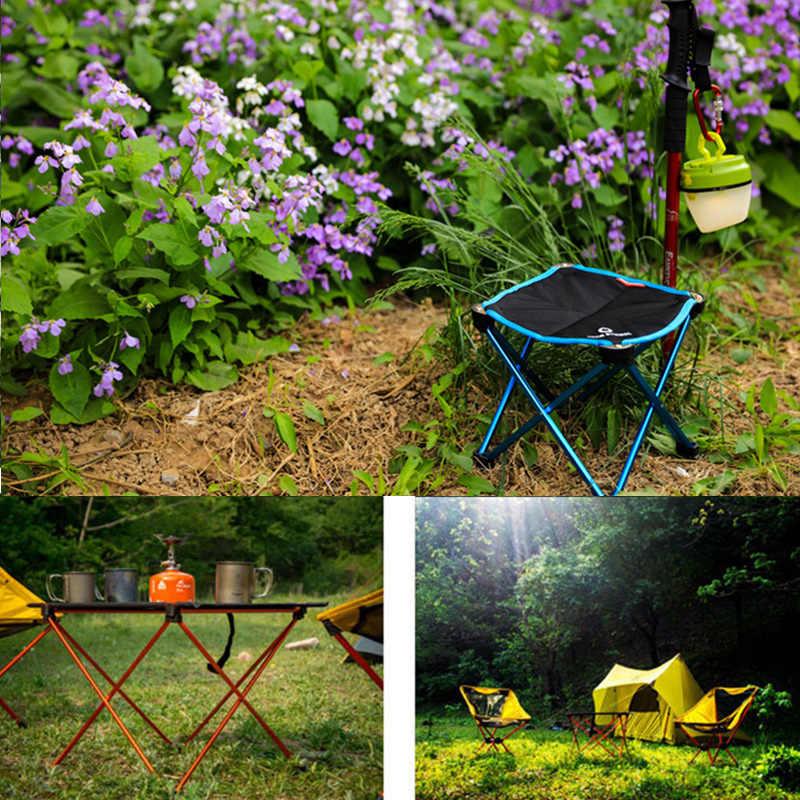 Портативные садовые наборы складной стол-стул стол для кемпинга на открытом воздухе мебель для сада и пикника прочный 7075 Al сплав ультра-легкий