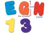 Alphanumeric Letter Puzzle Baby Bath Toys