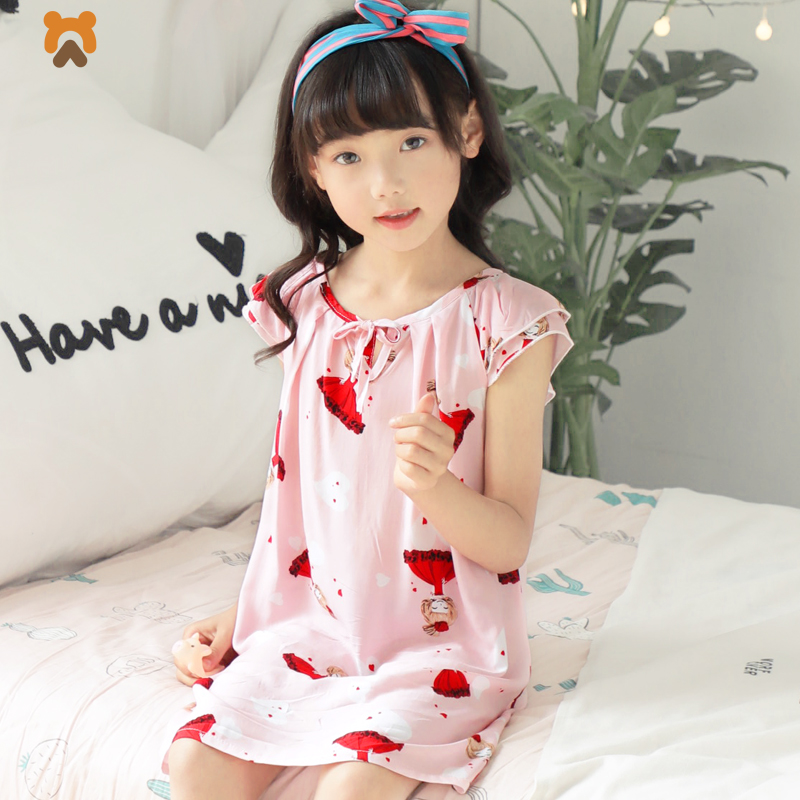 Girls Dresses Summer 2018 For Kids Cartoon Toddler Little Girl Princess Gown Dress Baby Kids Children Night Dresses For Girls kseniya kids toddler girl dresses 2017 brand new princess dress summer little girl dress sleeveless floral girls costume 2 10y
