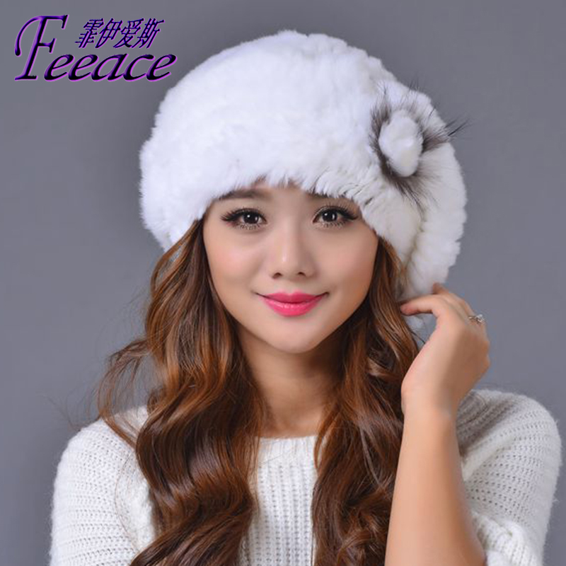 Skullies & Beanies Fashion hats, Bailey winter warm cap, winter cap rabbit FPC013 skullies