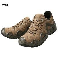 CQB мужские тактические ботинки открытый кроссовки мужские Mountain Мощность низкая треккинговые ботинки износостойкие термоклей прогулки Охо...