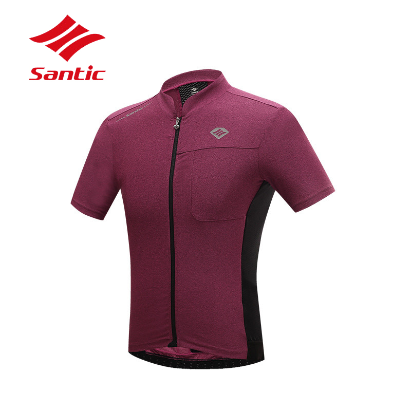 где купить Santic Men Cycling Jersey 2018 Summer Bike Bicycle Cycle Clothes Jersey MTB Road Cycling Clothing Quick Dry Tops Ropa Ciclismo по лучшей цене