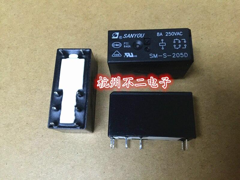 5PCS HF115F-A//115-2ZS4AF Power Relay 8A 250VAC 8 Pins 116