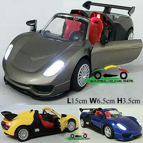 free shipping super cabriolet roadster pull back acousto optic mini