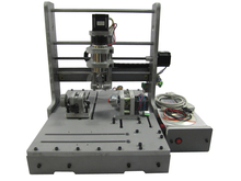 DIY CNC router 3040 4 axis LY mini CNC engraving machine free tax to Russia