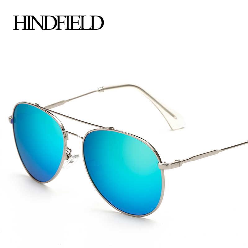 HINDFIELD Femmes Lunettes De Soleil Polarisées Marque Designer Vintage  Métal Spotr Soleil lunettes Pour Femme oculos de sol feminino 08e2b7f79ed5