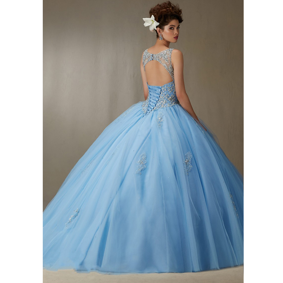 Aliexpress.com : Buy Cheap Masquerade Dresses Ball Gowns Open Back ...