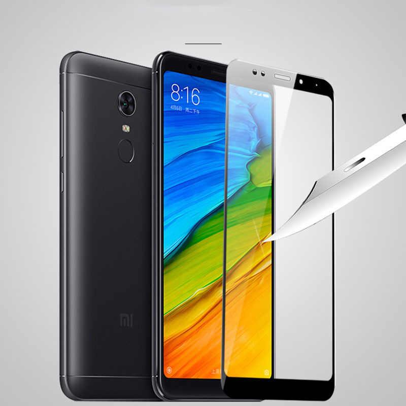 3D Bordo Curvo Vetro Temperato Per Xiaomi Redmi 5 Plus di Vetro Protezione dello schermo per Xiomi redmi 5 più Fibra di Carbonio Cell Phone pellicola