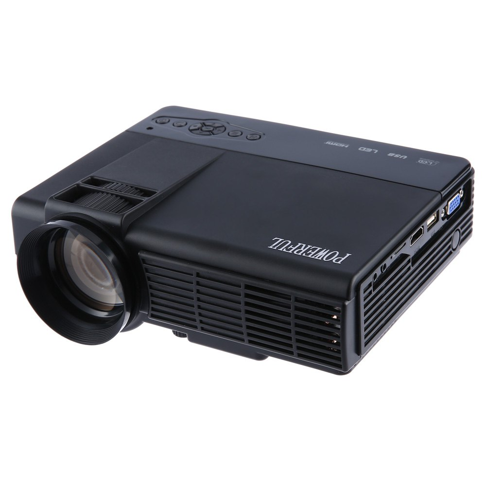 ФОТО Original Powerful Q5 Portable Home Theater 1000 Lumens 480x320 Pixels Multimedia HD LCD Projector EU/US Plug Wireless Projector