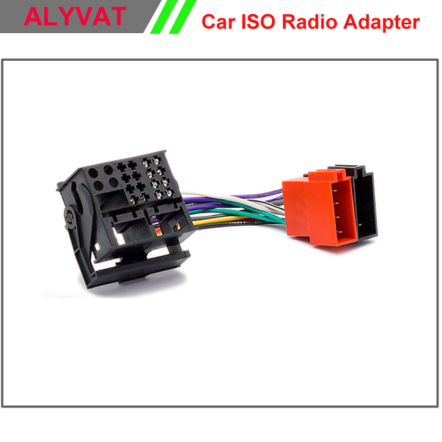 car iso stereo wiring harness for citroen c2 c3 c4 c5 peugeot rh aliexpress com peugeot wiring loom connectors Wiring Harness Connectors