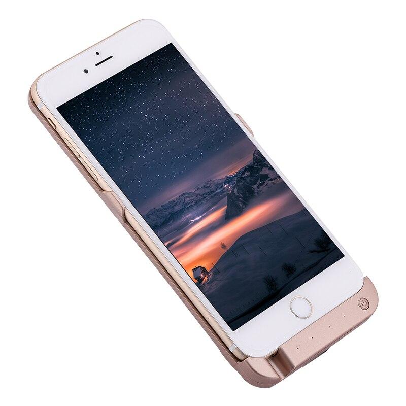 imágenes para External Slim para el iphone 6 p/6 splus 5.5 pulgadas 10000 mAh Caja de Batería Recargable Bateador Protectora Caso banco caso para iPhone6p/6sp