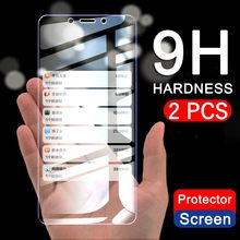 2pcs/Lot Tempered Glass for Samsung Galaxy J5 J4 J3 J6 J7 J8 A6 A8 Plus A7 J2 J250 2018 Screen Protector Protective(China)