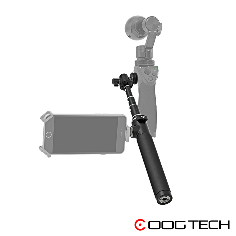 Extension Rod Stick for DJI OSMO/OSMO Mobile PRO RAW / Osmo Plus Handheld Gimbal Stabilization