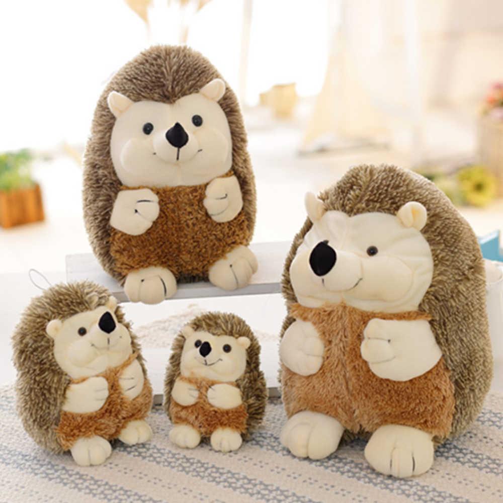Ouriço Brinquedos de Pelúcia Animais Boneca de Brinquedo de Pelúcia Kawaii Macio de Alta Qualidade Casa Decoração Presente para As Crianças Meninas Bonecas Brinquedos