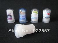 Free Shipping For 5pc 60g Alum Stick Deodorant Stick Antiperspirant Stick