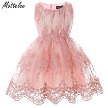 ФОТО cielarko 2017 summer dresses sleeveless tutu lace dress for girls kids babys pageant tulle petticoat vestido menina infantil 009
