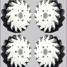 6 дюймов) 152 мм алюминиевые колеса Mecanum(2 левые, 2 правые)/колесо для соревнований роботов