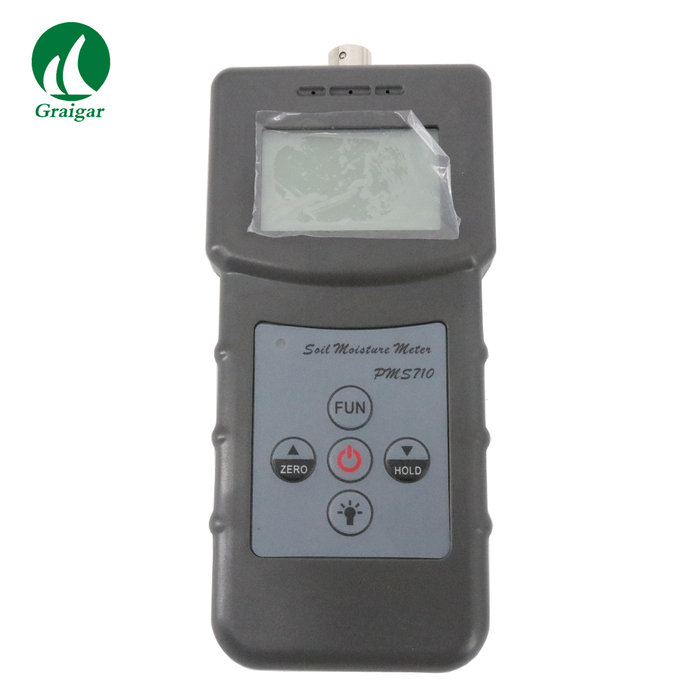 Handheld Digital Soil Moisture Meter PMS710 Measuring Range :0-50% With 4 Digital LCD 4 8 days arrival lb92t portable sweetness tester brix meter with measuring range 58 92