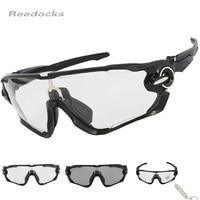 2017 Hot SALE Polarized Clear Photochromic Cycling Eyewear Men Women Bike Glasses Sport Sunglasses Outdoor Bicycle