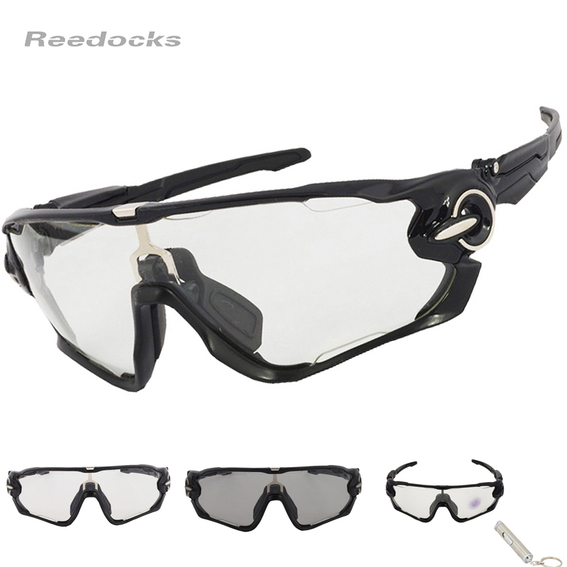 Hot SALE Clear Photochromic Cycling Eyewear Men Women Brand Bike Glasses Sport Sunglasses Outdoor Bicycle Designer Goggles
